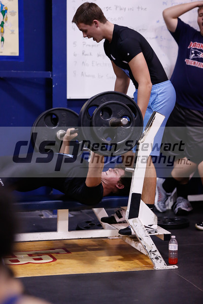 Hagerty Varsity Weightlifting @ LBHS 2-11-15