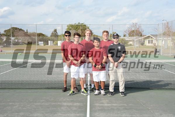Boys Tennis Vs Heritage